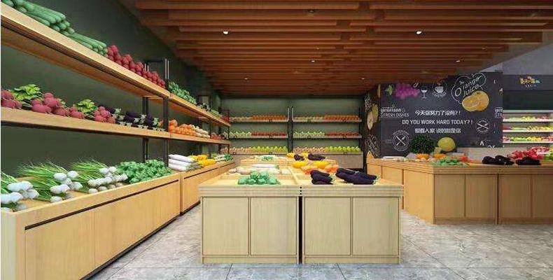 生鲜水果货架