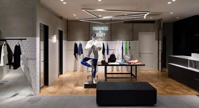 东莞服装店铺设计